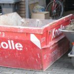 Container für Aushub