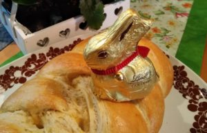 Goldiger Hase