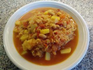 Vegane Sauerkrautsuppe